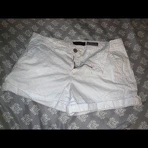 White Aeropostale knit shorts
